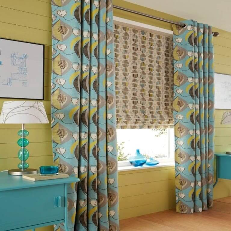 A Range Of Top-quality Roman Blinds From Manor Interiors