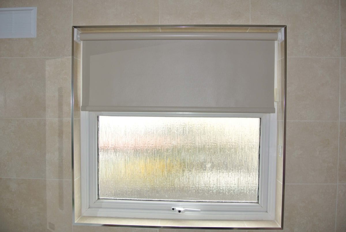 Roller Blinds Bathroom