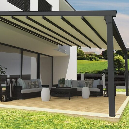 Pergola for garden terrace