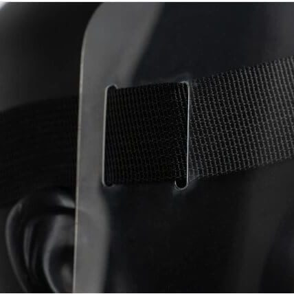 covid-19 Face shields stripe
