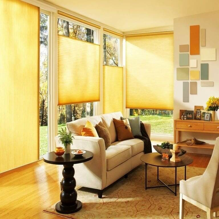 pleated blinds from Bargain Blinds